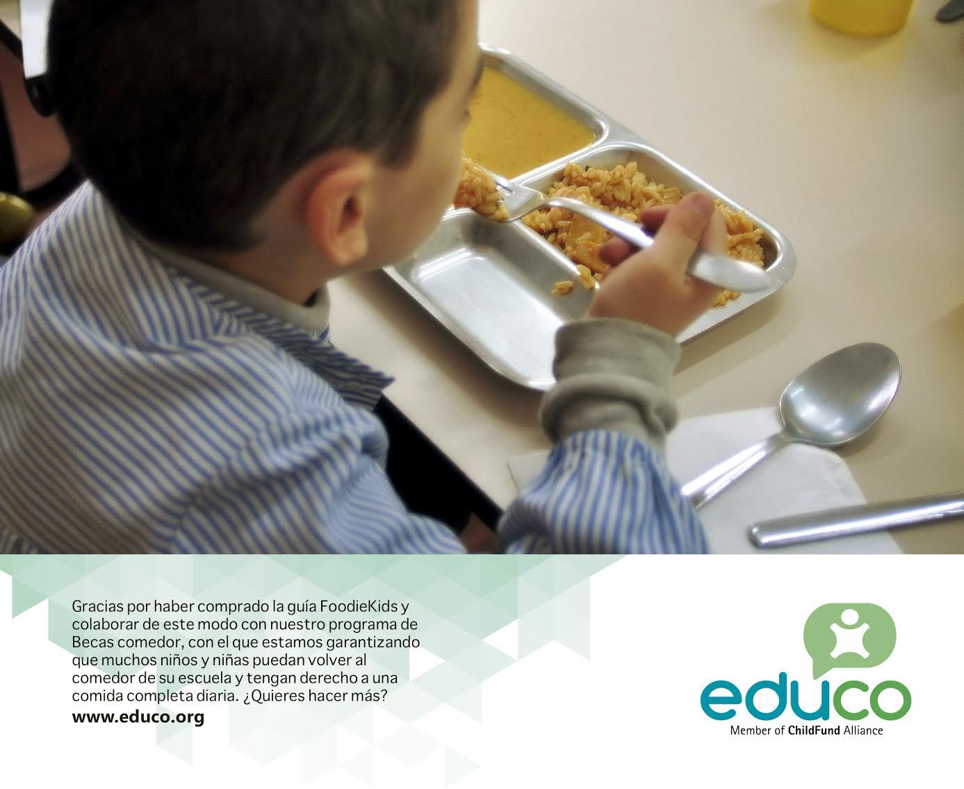 Foodiekids apoya el programa becas comedor de la ong for Becas comedor barcelona